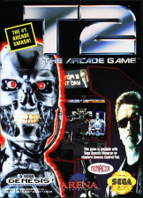 T2 - The Arcade Game Sega Genesis cover artwork