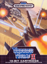 Thunder Force II Sega Genesis cover artwork