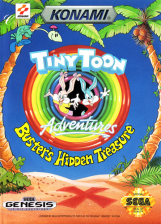 Tiny Toon Adventures - Buster's Hidden Treasure Sega Genesis cover artwork