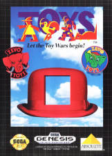Toys Sega Genesis cover artwork