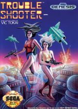 Trouble Shooter Sega Genesis cover artwork