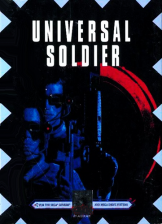 Universal Soldier Sega Genesis cover artwork