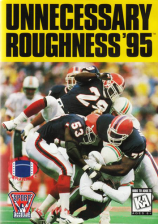 Unnecessary Roughness '95 Sega Genesis cover artwork