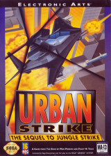 Urban Strike Sega Genesis cover artwork
