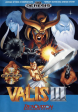 Valis III Sega Genesis cover artwork