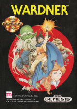 Wardner Sega Genesis cover artwork