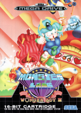 Wonder Boy III - Monster Lair Sega Genesis cover artwork
