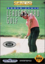 World Class Leaderboard Golf Sega Genesis cover artwork