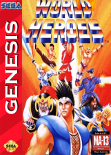World Heroes Sega Genesis cover artwork