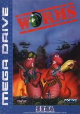 Worms Sega Genesis cover artwork