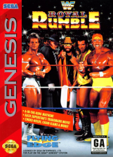 WWF Royal Rumble Sega Genesis cover artwork