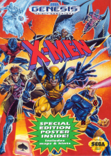 X-Men Sega Genesis cover artwork