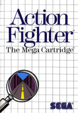 Action Fighter Sega Master System cover artwork