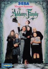 Addams Family, The Sega Master System cover artwork