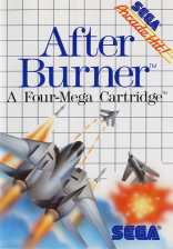 After Burner Sega Master System cover artwork
