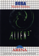 Alien 3 Sega Master System cover artwork