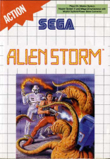 Alien Storm Sega Master System cover artwork