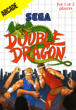 Double Dragon Sega Master System cover artwork