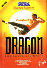 Dragon - The Bruce Lee Story Sega Master System cover artwork