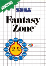 Fantasy Zone Sega Master System cover artwork