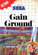 Gain Ground Sega Master System cover artwork