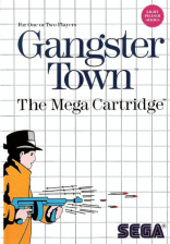 Gangster Town Sega Master System cover artwork