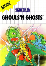 Ghouls'n Ghosts Sega Master System cover artwork