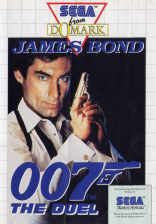 James Bond 007 - The Duel Sega Master System cover artwork