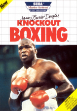 James 'Buster' Douglas Knockout Boxing Sega Master System cover artwork