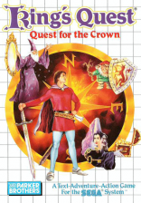 King's Quest - Quest for the Crown Sega Master System cover artwork