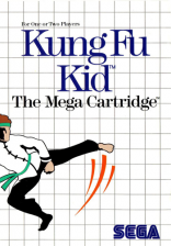 Kung Fu Kid Sega Master System cover artwork