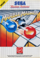 Marble Madness Sega Master System cover artwork