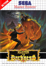 Master of Darkness Sega Master System cover artwork