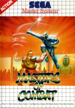Masters of Combat Sega Master System cover artwork