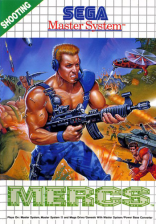 Mercs Sega Master System cover artwork