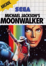 Michael Jackson's Moonwalker Sega Master System cover artwork