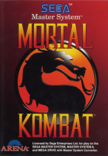 Mortal Kombat Sega Master System cover artwork
