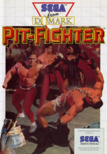 Pit Fighter Sega Master System cover artwork