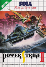Power Strike II Sega Master System cover artwork