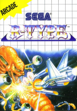 R-Type Sega Master System cover artwork