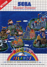 Rainbow Islands - The Story of Bubble Bobble 2 Sega Master System cover artwork
