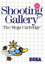 Shooting Gallery Sega Master System cover artwork