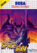 Space Gun Sega Master System cover artwork