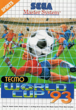Tecmo World Cup '93 Sega Master System cover artwork