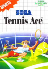 Tennis Ace Sega Master System cover artwork