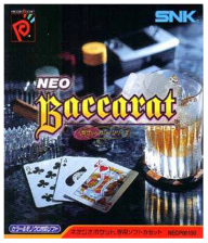 Neo Baccarat - Real Casino Series SNK Neo Geo Pocket cover artwork