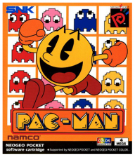 Pac-Man SNK Neo Geo Pocket cover artwork
