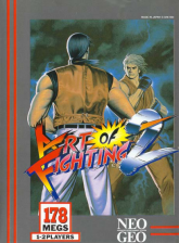 Art of Fighting 2 SNK NEO GEO cover artwork