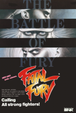 Fatal Fury 1 : King of Fighters SNK NEO GEO cover artwork