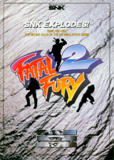 Fatal Fury 2 SNK NEO GEO cover artwork